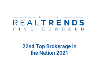 RealTrends - 22nd Top Brokerage in the Nation by Transactions