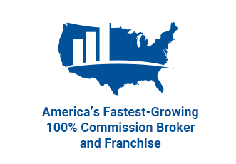 America's Fastest-Growing 100% Commission Brokerage & Franchise