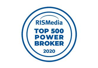 RISMedia Top 500 Power Broker - 2020