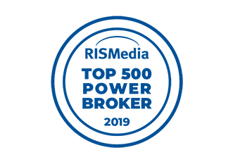 RISMedia Top 500 Power Broker - 2019