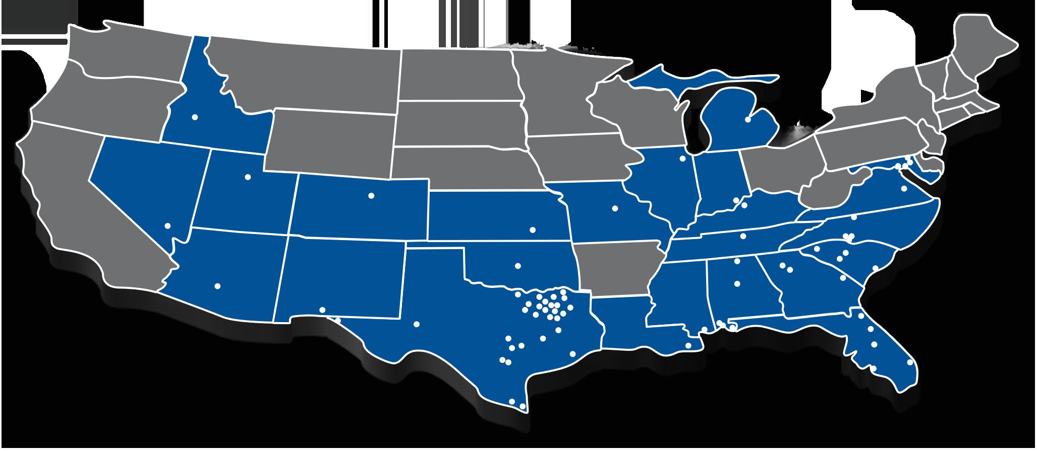 JPAR National Office Map